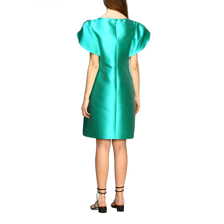 Robes Alberta Ferretti: Robe Alberta Ferretti à corolle eau 2
