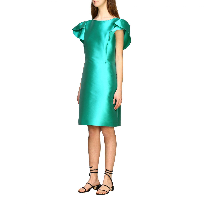 Robes Alberta Ferretti: Robe Alberta Ferretti à corolle eau 3