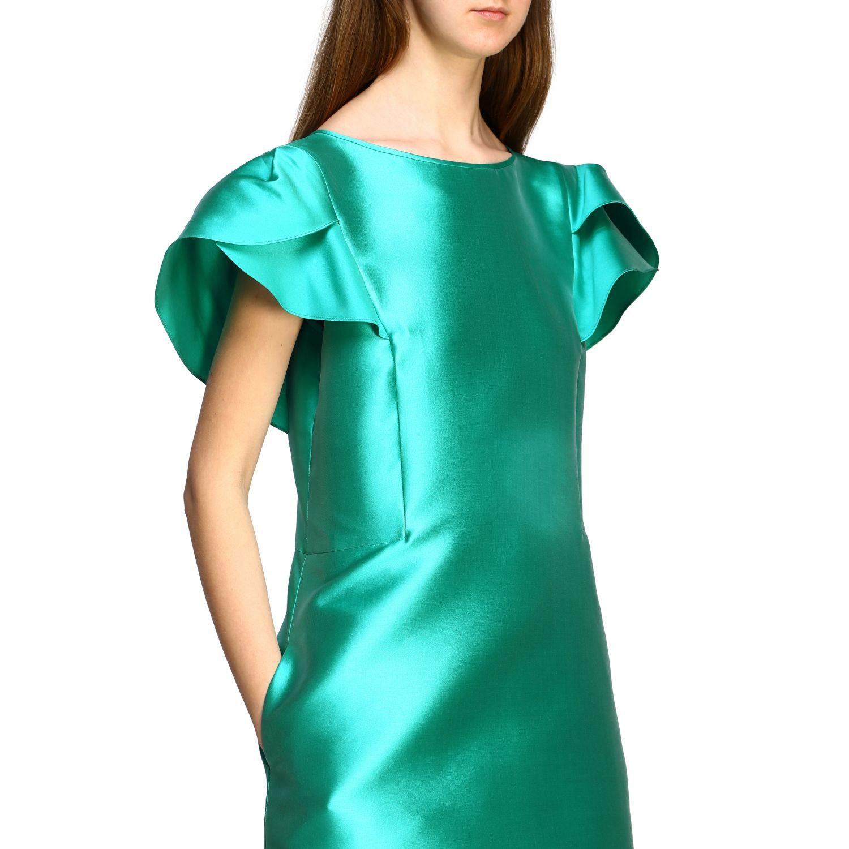 Robes Alberta Ferretti: Robe Alberta Ferretti à corolle eau 4