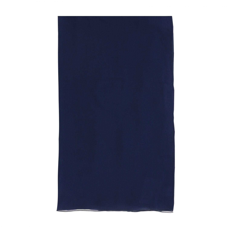 Foulard Alberta Ferretti: Étole en mousseline Alberta Ferretti bleu 1