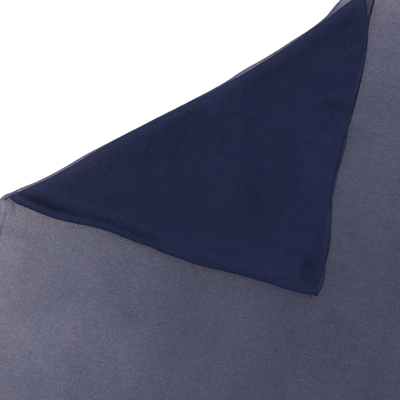 Foulard Alberta Ferretti: Étole en mousseline Alberta Ferretti bleu 3