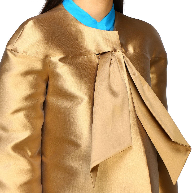 外套 Alberta Ferretti: Alberta Ferretti 无袖米卡多外套 金色 5