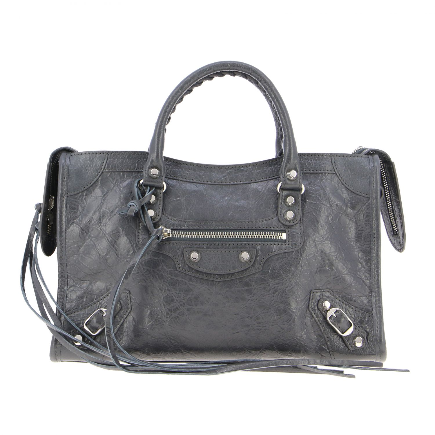 Handbag Balenciaga: Shoulder bag women Balenciaga grey 1
