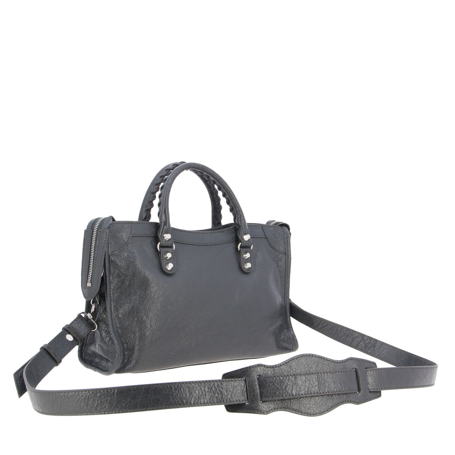 Handbag Balenciaga: Shoulder bag women Balenciaga grey 3