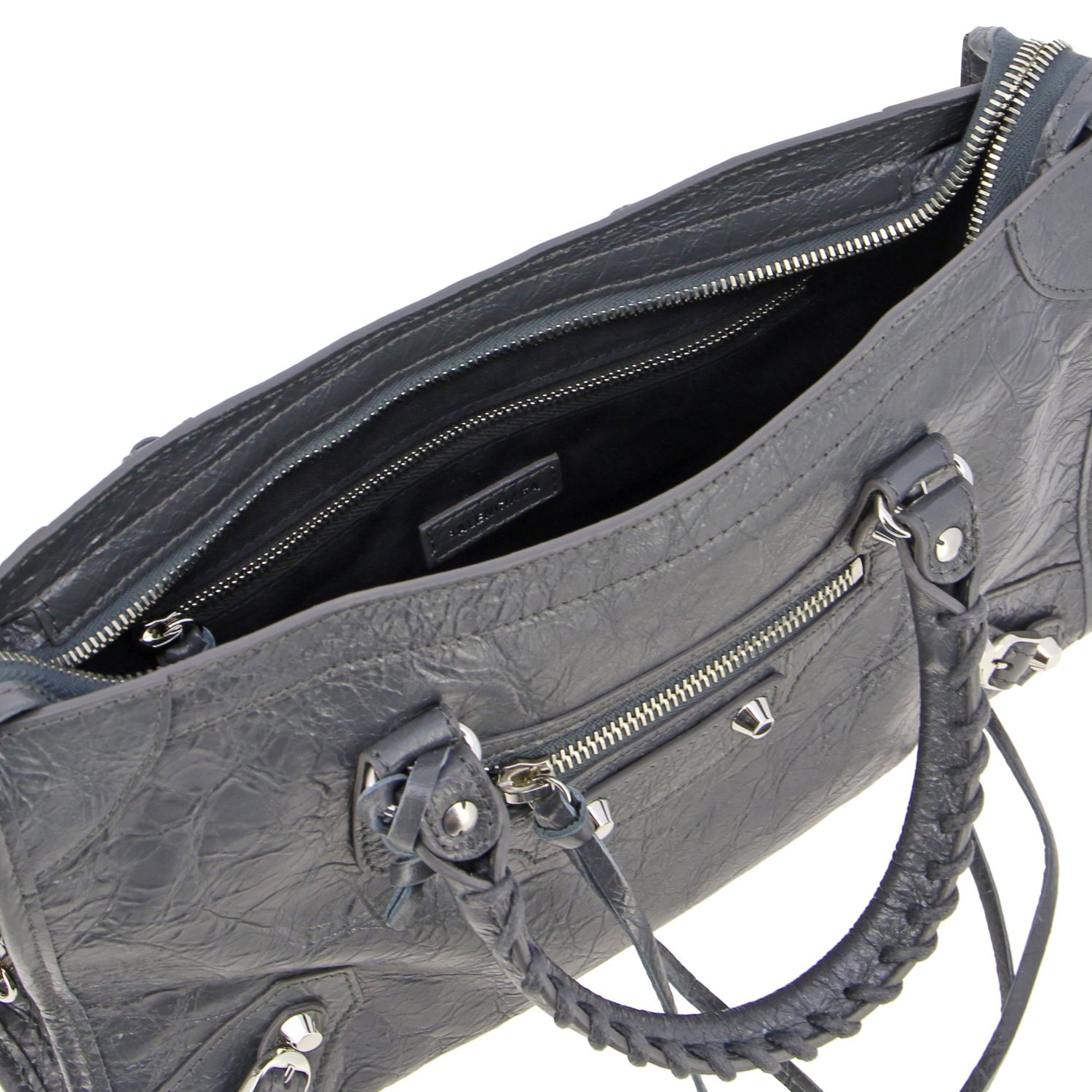 Handbag Balenciaga: Shoulder bag women Balenciaga grey 5