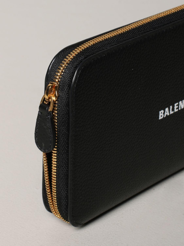 Кошелек Женское Balenciaga черный 4