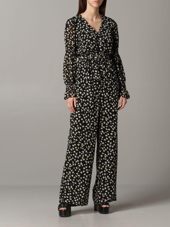 Michael Michael Kors floral patterned tracksuit black 1