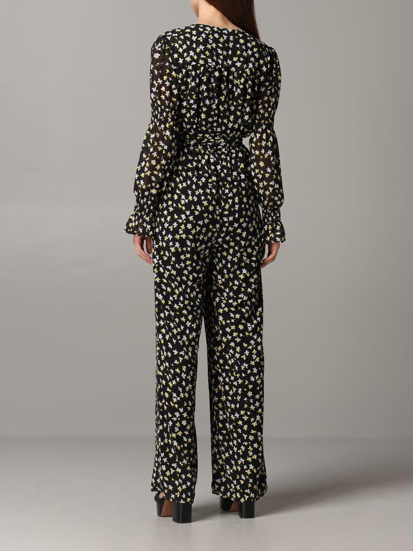 Michael Michael Kors floral patterned tracksuit black 2