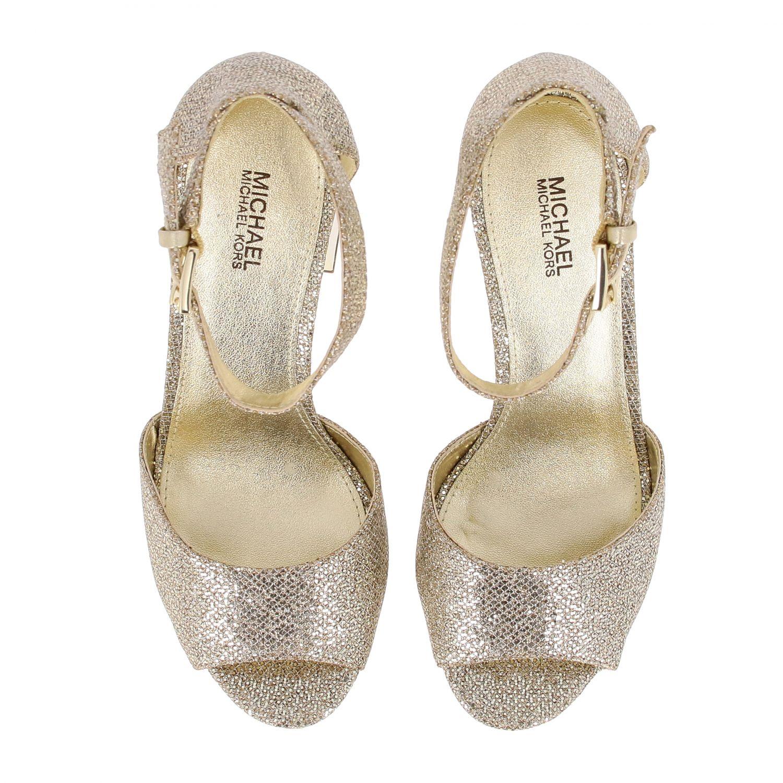 Shoes women Michael Michael Kors gold 3