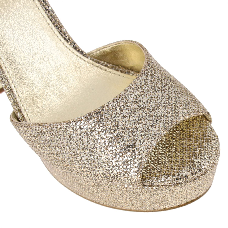 Shoes women Michael Michael Kors gold 4