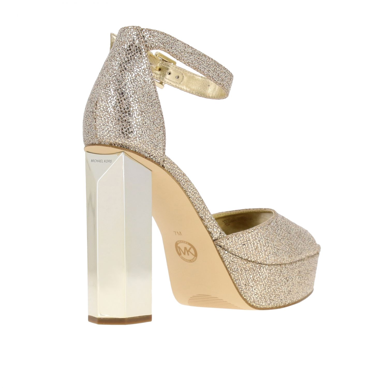 Shoes women Michael Michael Kors gold 5