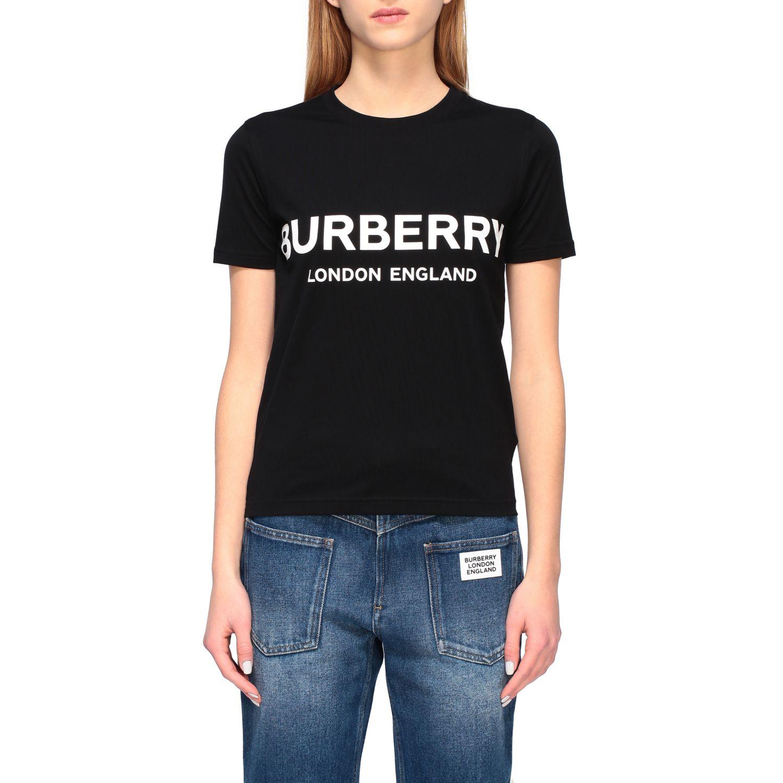 T-shirt women Burberry black 1