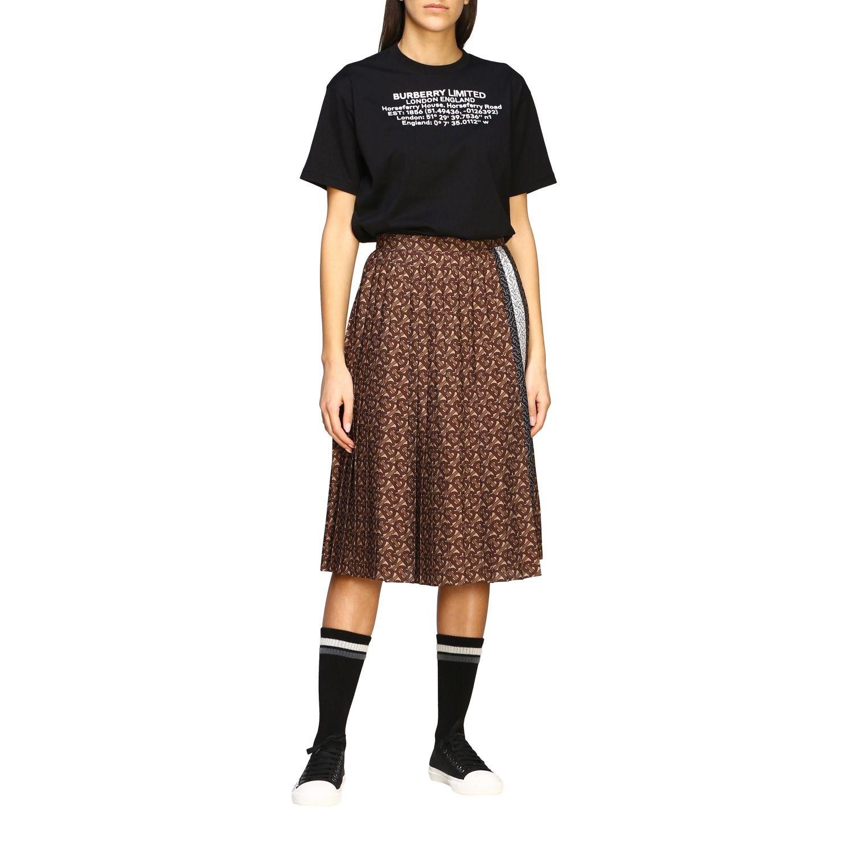 T-shirt women Burberry black 2