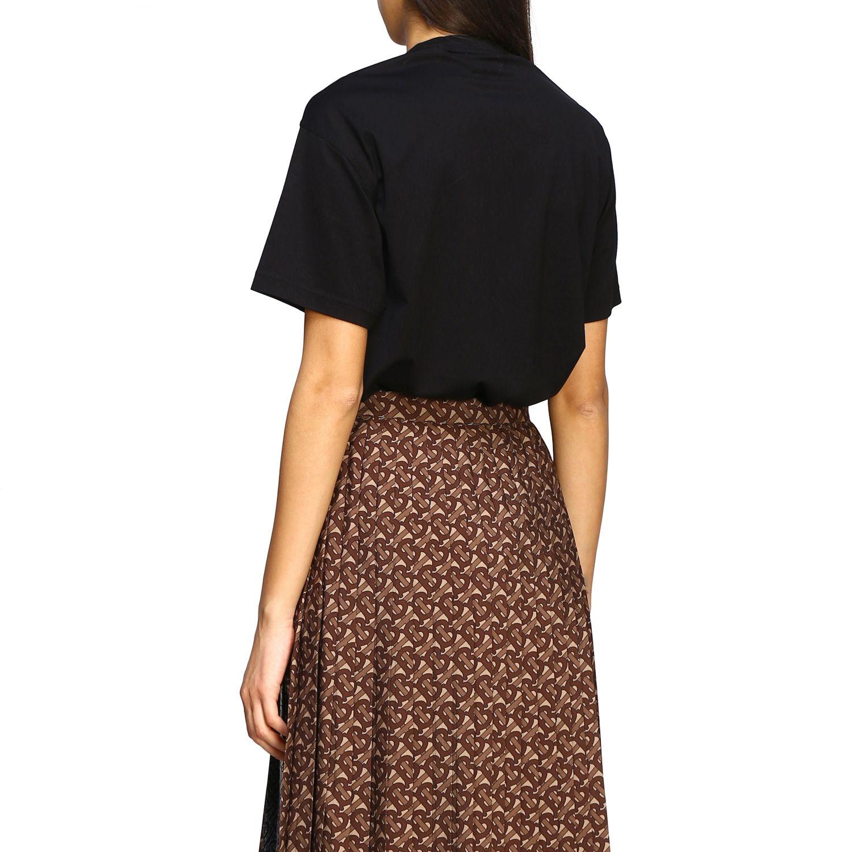 T-shirt women Burberry black 3