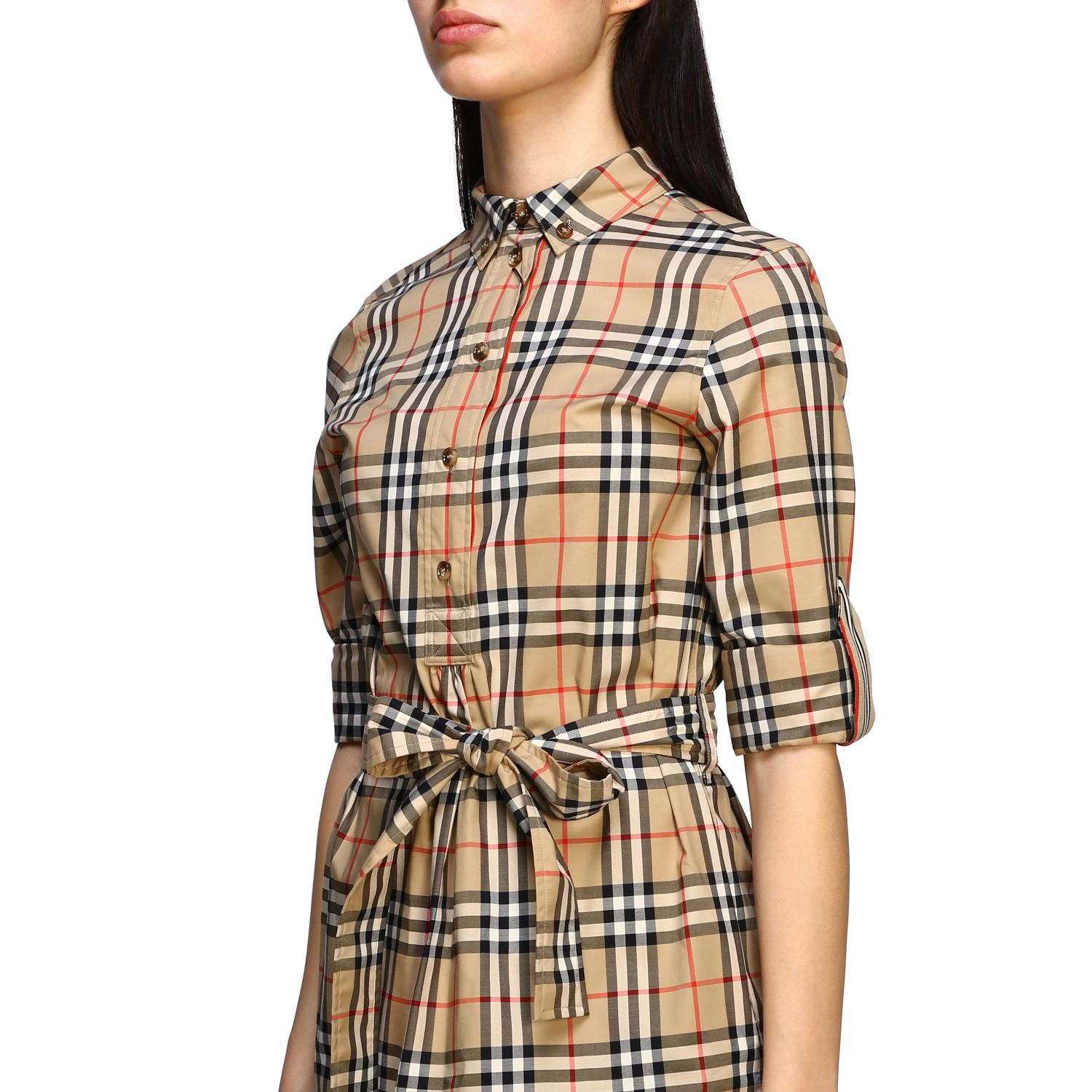 Dress women Burberry beige 5