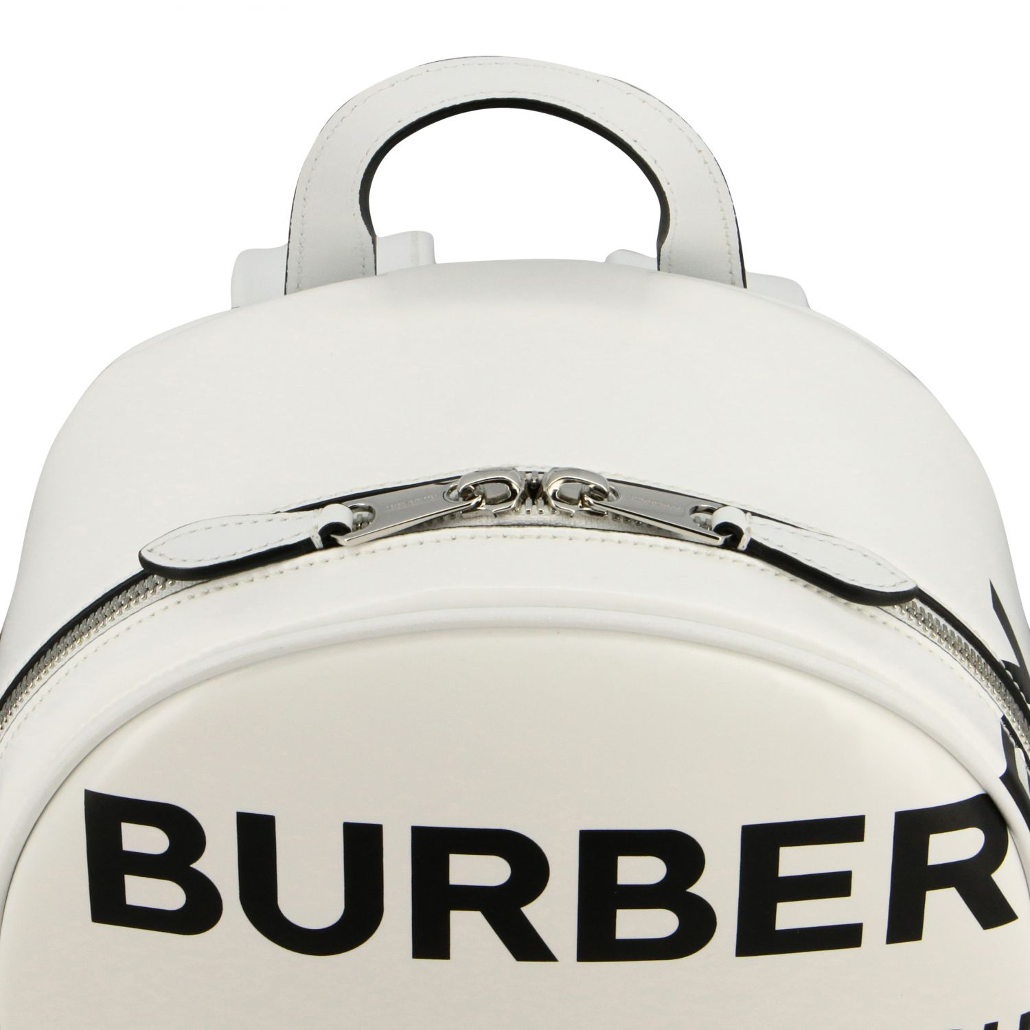 Backpack Burberry: Shoulder bag women Burberry white 5