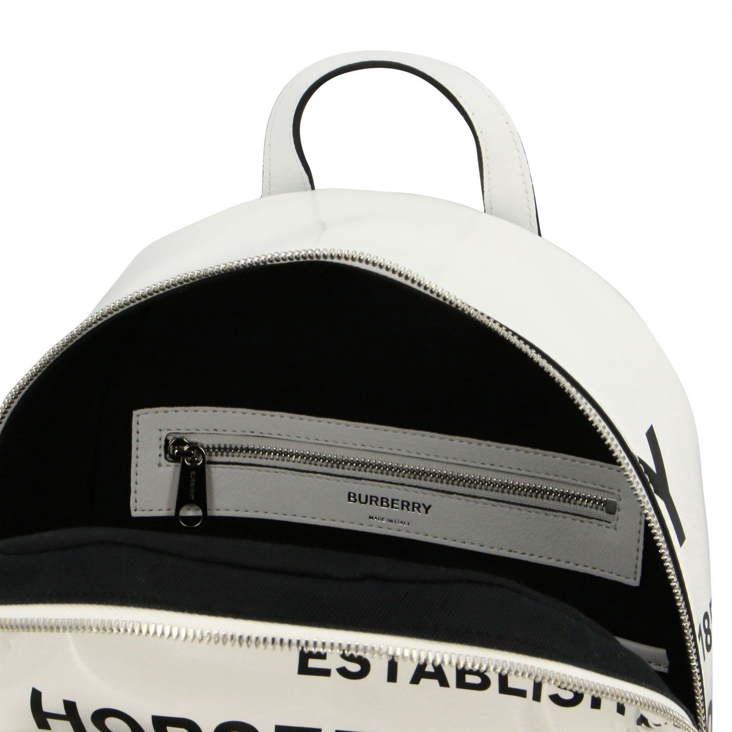 Backpack Burberry: Shoulder bag women Burberry white 6