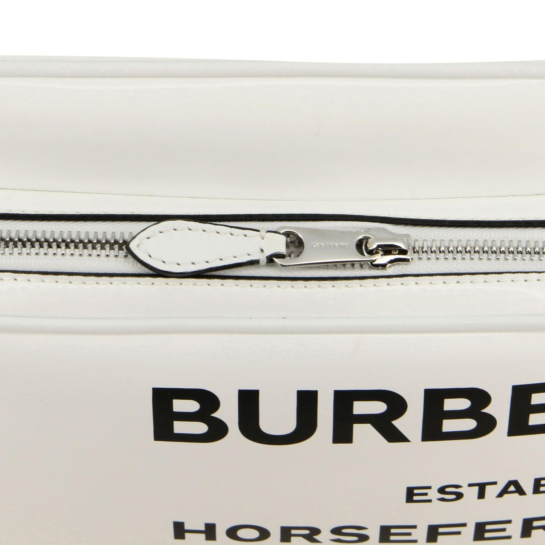 Crossbody bags Burberry: Shoulder bag women Burberry white 4