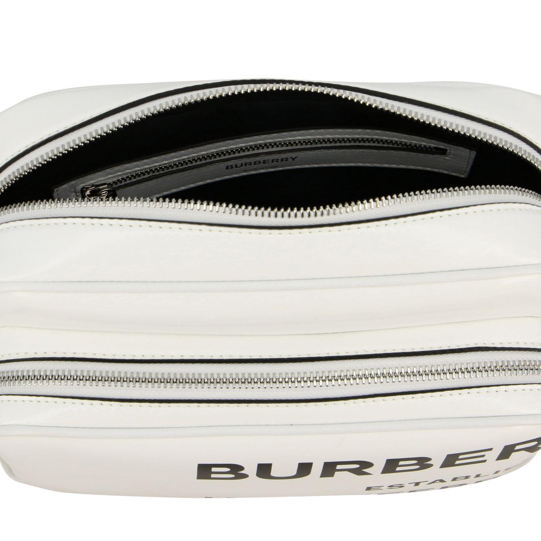 Crossbody bags Burberry: Shoulder bag women Burberry white 5