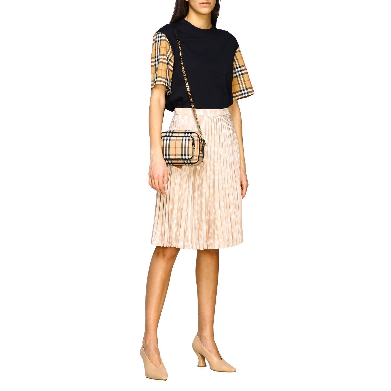 Shoulder bag women Burberry beige 2