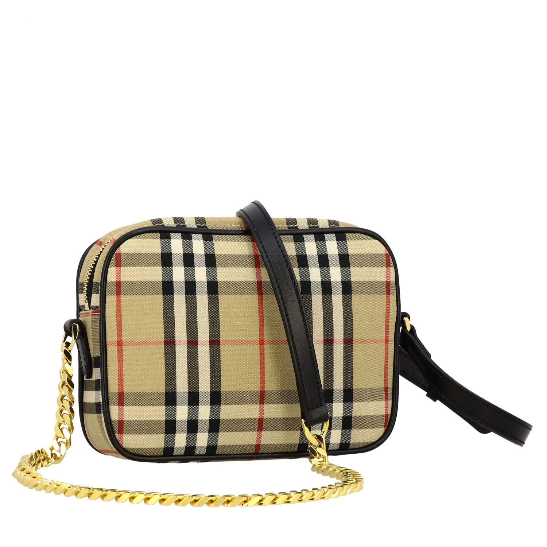 Shoulder bag women Burberry beige 3