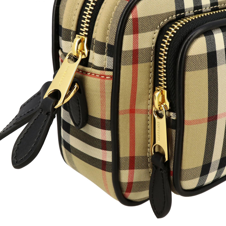 Shoulder bag women Burberry beige 4