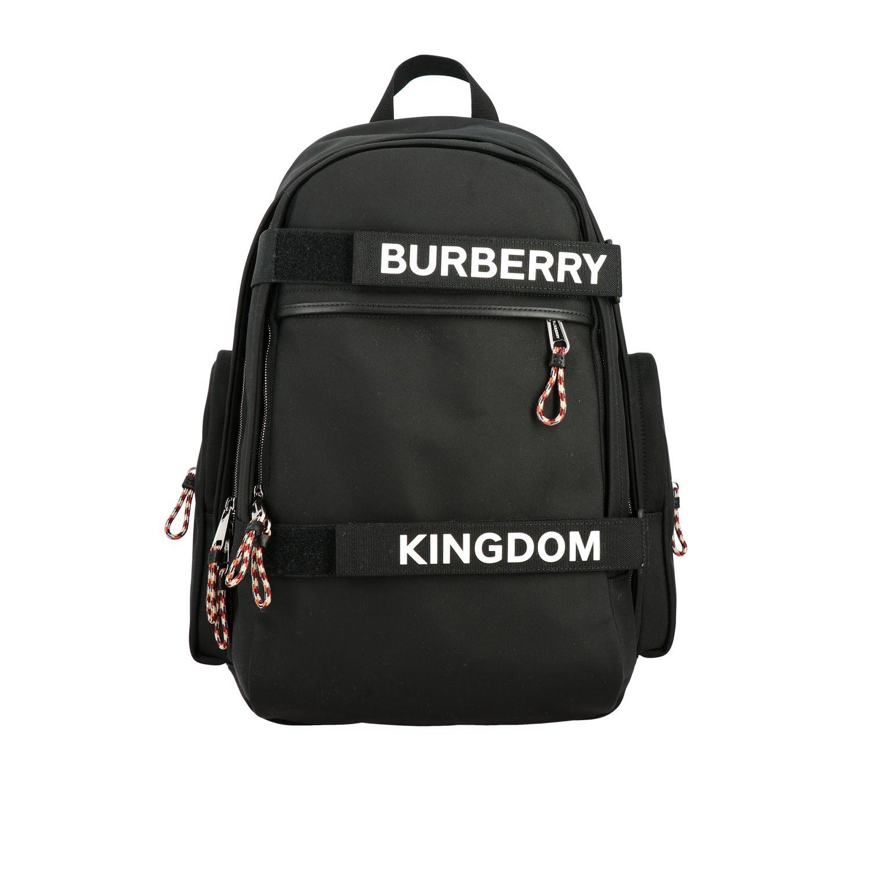 Rucksack Burberry: Nevis Burberry Rucksack mit Kingdom Logo und Schriftzug schwarz 1
