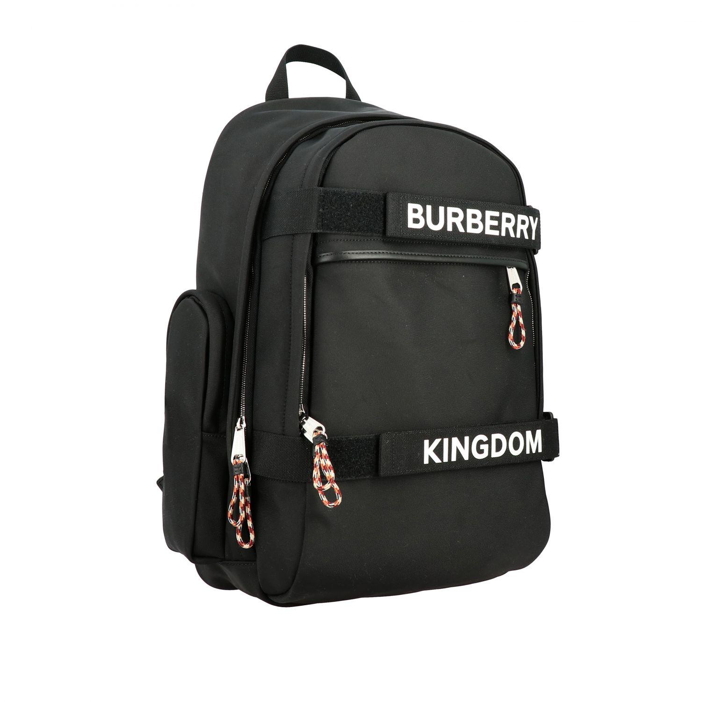 Rucksack Burberry: Nevis Burberry Rucksack mit Kingdom Logo und Schriftzug schwarz 3