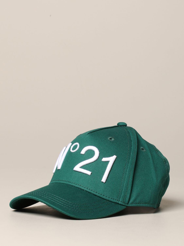 N° 21 logo 棒球帽 绿色 1