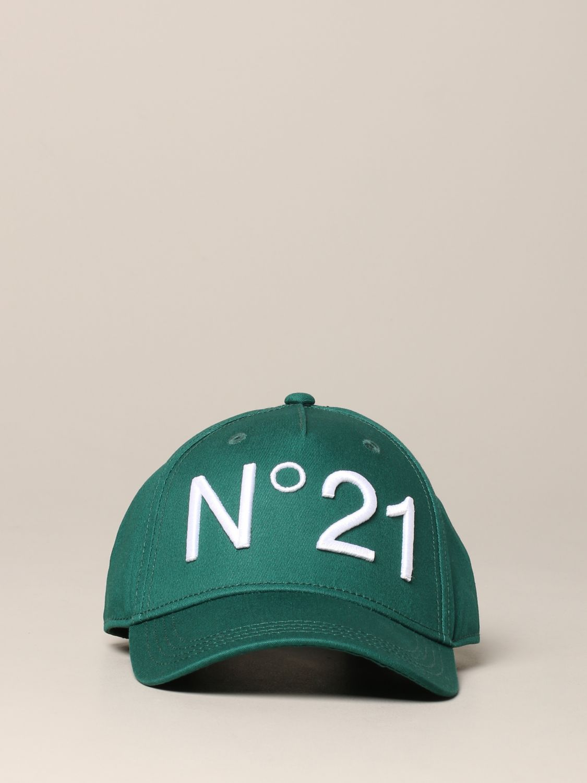 N° 21 logo 棒球帽 绿色 2