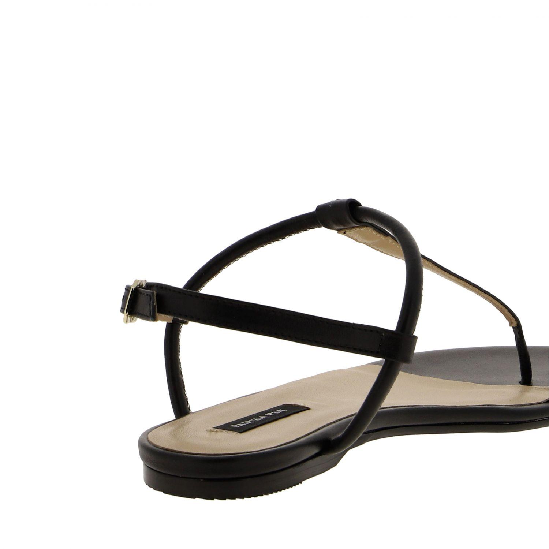 Patrizia Pepe Sandale aus Leder schwarz 5