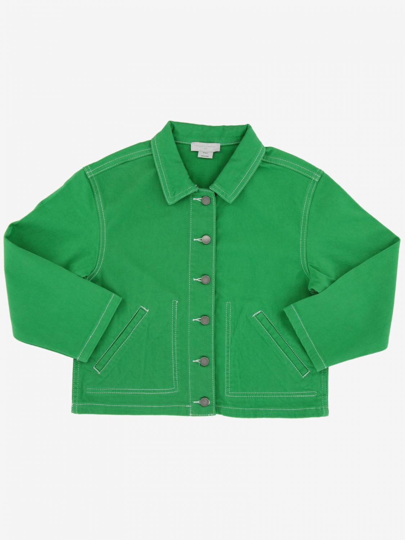 Jacket kids Stella Mccartney green 1