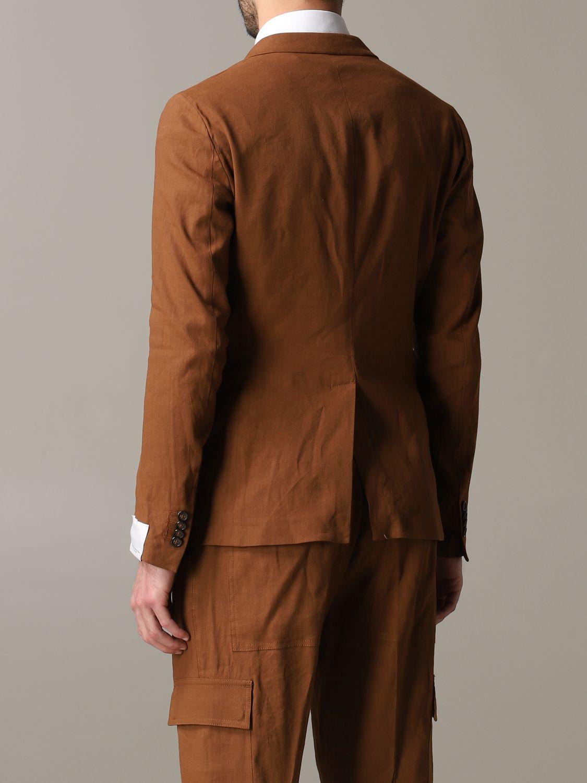 西服外套 男士 Paolo Pecora 黄棕色 3
