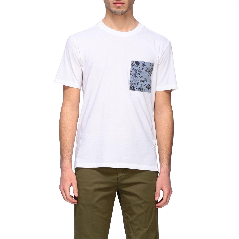 T-shirt homme Paolo Pecora blanc 1