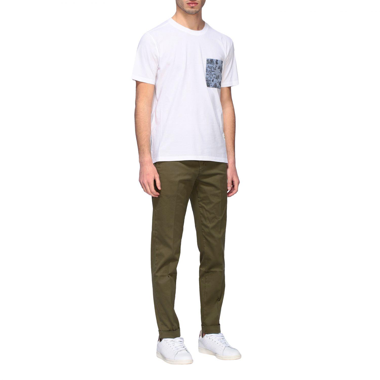 T-shirt homme Paolo Pecora blanc 2