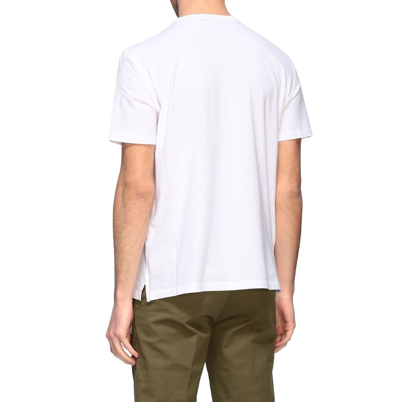 T-shirt homme Paolo Pecora blanc 3