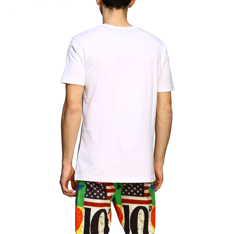 T-shirt Iceberg x Peter Blake con patch logo multicolor bianco 3