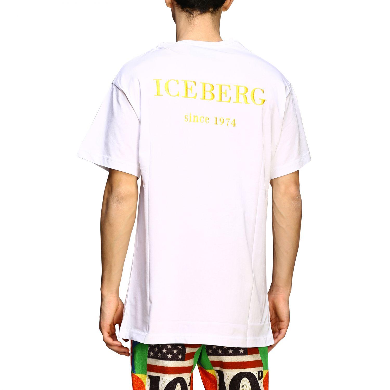 T-shirt Iceberg con stampa Topolino bianco 2