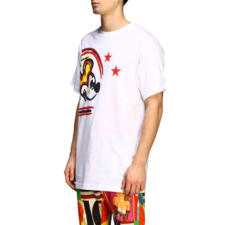 T-shirt Iceberg con stampa Topolino bianco 3