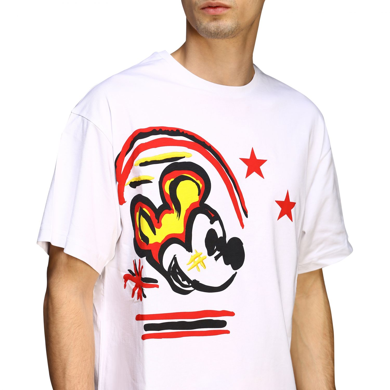 T-shirt Iceberg con stampa Topolino bianco 4
