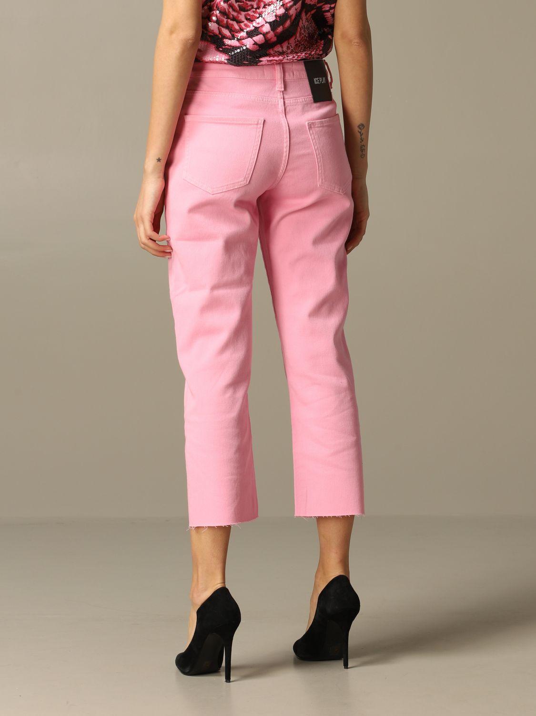 牛仔裤 女士 Ice Play 粉色 2