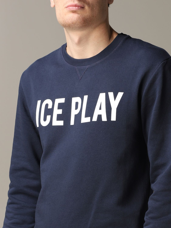 Sudadera hombre Ice Play azul oscuro 5