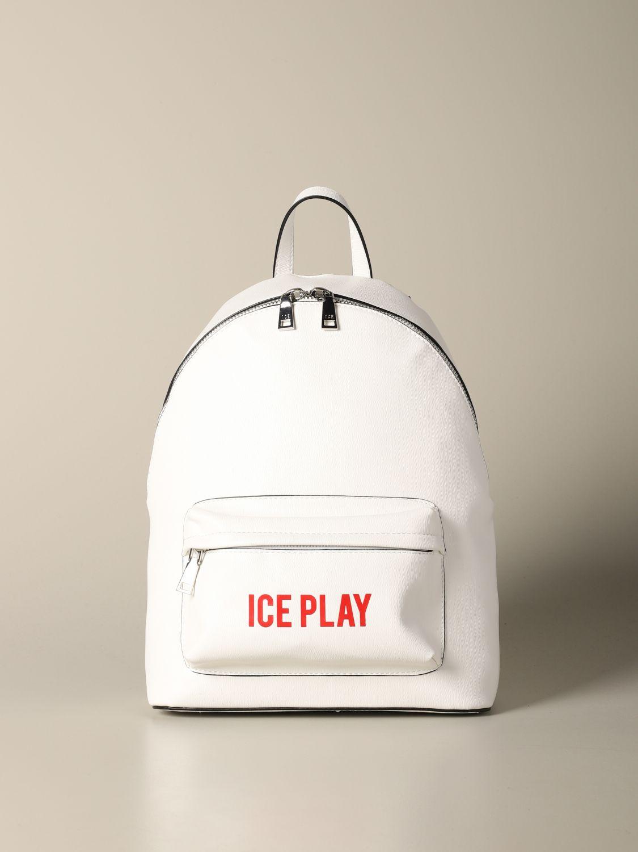 Shoulder bag women Ice Play white 1