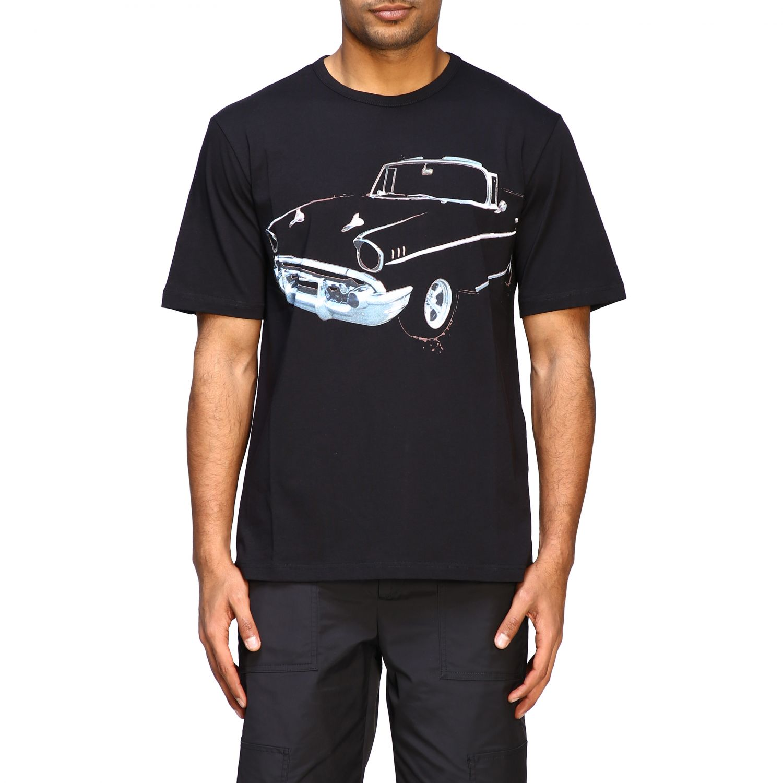 T-Shirt N° 21: N ° 21 T-Shirt mit großem Auto Print schwarz 1