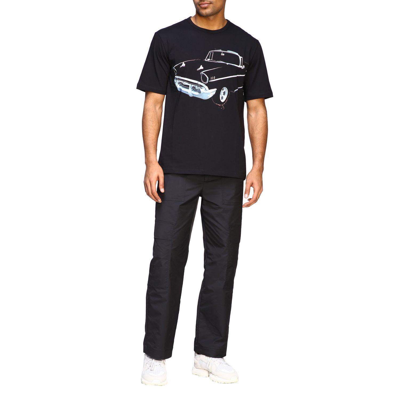 T-Shirt N° 21: N ° 21 T-Shirt mit großem Auto Print schwarz 2