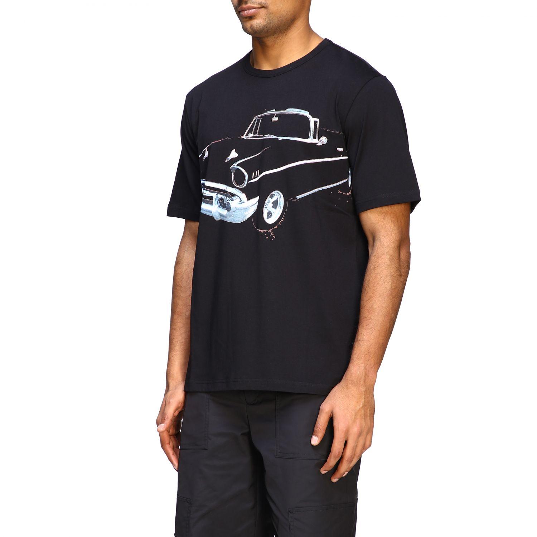 T-Shirt N° 21: N ° 21 T-Shirt mit großem Auto Print schwarz 4