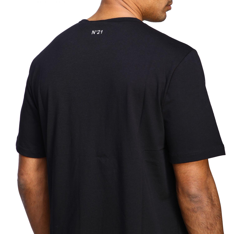 T-Shirt N° 21: N ° 21 T-Shirt mit großem Auto Print schwarz 5