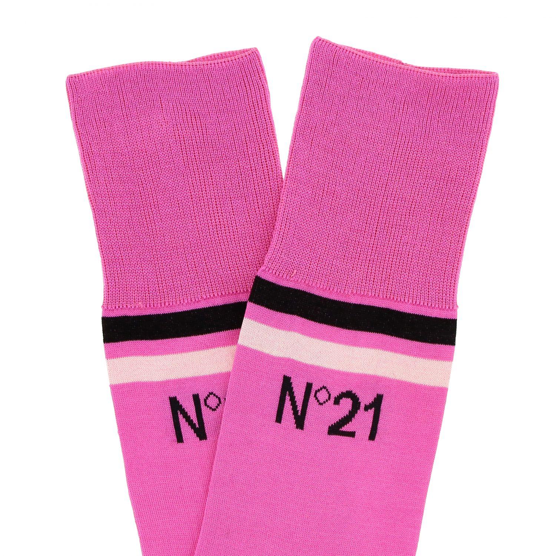 Socks women N° 21 fuchsia 2