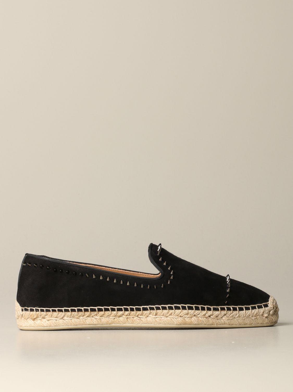 Espadrilles Christian Louboutin: Shoes men Christian Louboutin black 1