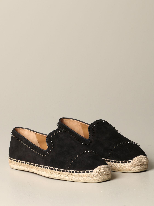 Espadrilles Christian Louboutin: Shoes men Christian Louboutin black 2